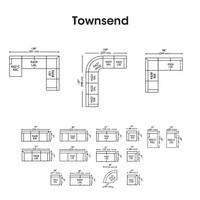 TOWNSEND SECTIONAL