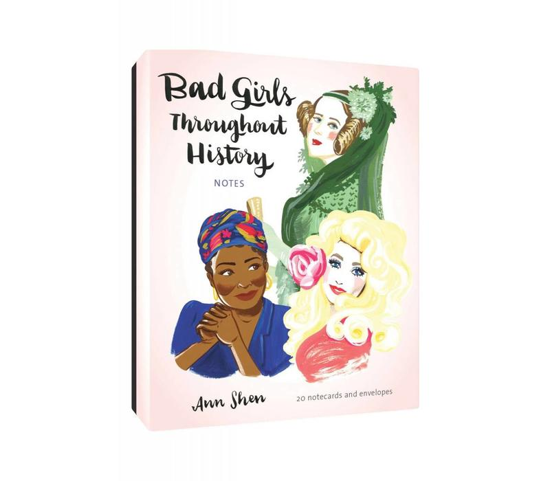 Bad Girls Throughout History Notecards