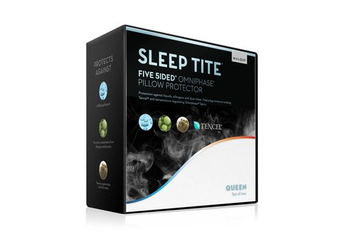 Sleep Tite Sleep Tite 5-Sided Mattress Protector with Omniphase and Tencel