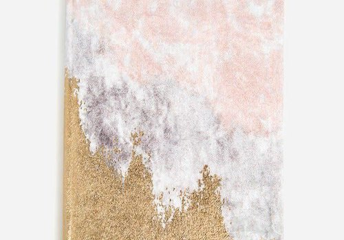Blush Fade - Medium Slim Velvet Agenda