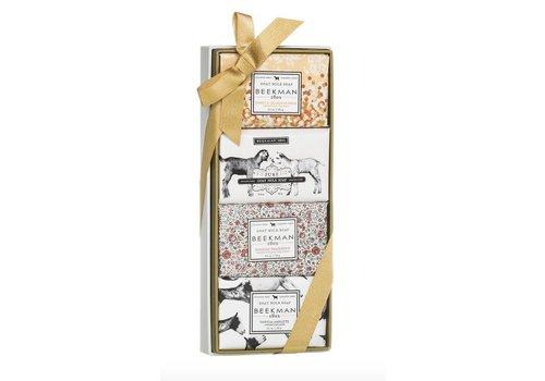 3.5 oz Bar Soap Sampler Gift Set - Honey