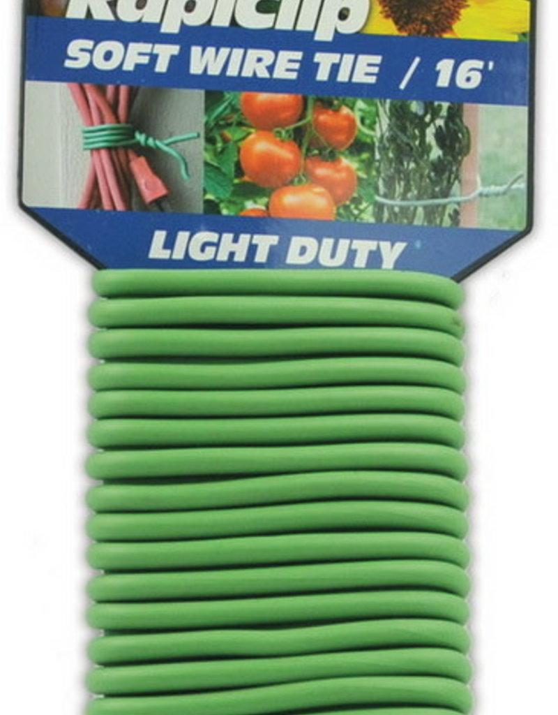 Luster Leaf Rapiclip soft wire tie 16', Light Duty