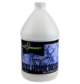 Alchemist Alchemist H2O2 Liquid Oxygen 34% Gallon Hydrogen Peroxide