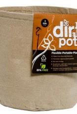 Hydrofarm Dirt Pot Tan 3 Gallon Fabric
