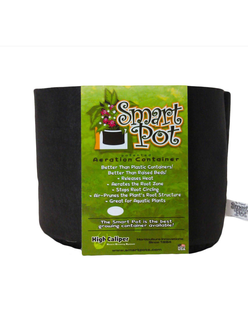 Smart Pot 45 Gallon Smart Pot Black Fabric