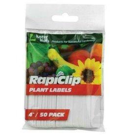 """Luster Leaf Luster Leaf Plant Labels 4"""" - 50 labels/ pack"""