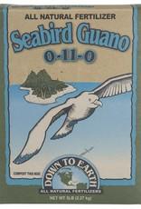 Down To Earth Down To Earth 0-11-0 Seabird Guano 5 lb Box