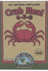 Down To Earth Down To Earth 4-3-0 Crab Meal - 5 lb Box