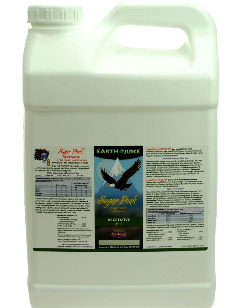 Hydro Organics / Earth Juice Earth Juice Sugar Peak 3-1-5 Vegetative, 2.5 gal