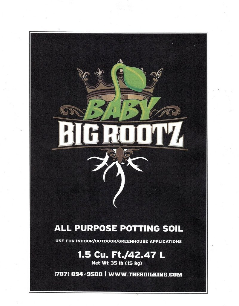 Soil King Soil King BABY Rootz 1.5 cu ft. bag
