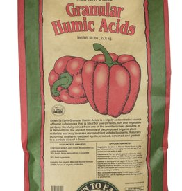 Down To Earth Down To Earth Granular Humic Acid - 50 lb