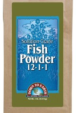 Down To Earth Down To Earth Soluable Fish Powder - 1 lb