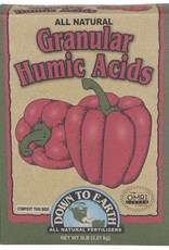Down To Earth Down To Earth Granular Humic Acid, 5 lb