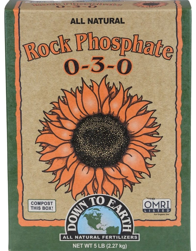 Down To Earth Down To Earth Rock Phosphate 0-3-0, 5 lb