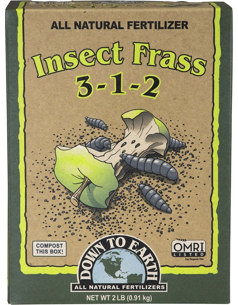 Down To Earth Down to Earth Insect Frass 2 lb. box 3-1-2