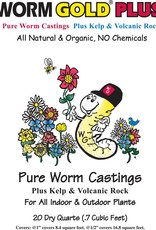 Worm Gold Worm Gold Plus Pure Worm Castings .70 cu. ft.