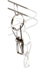 STACK!T STACK!T Stainless Steel Hanging Dry Rack w/28 Clips