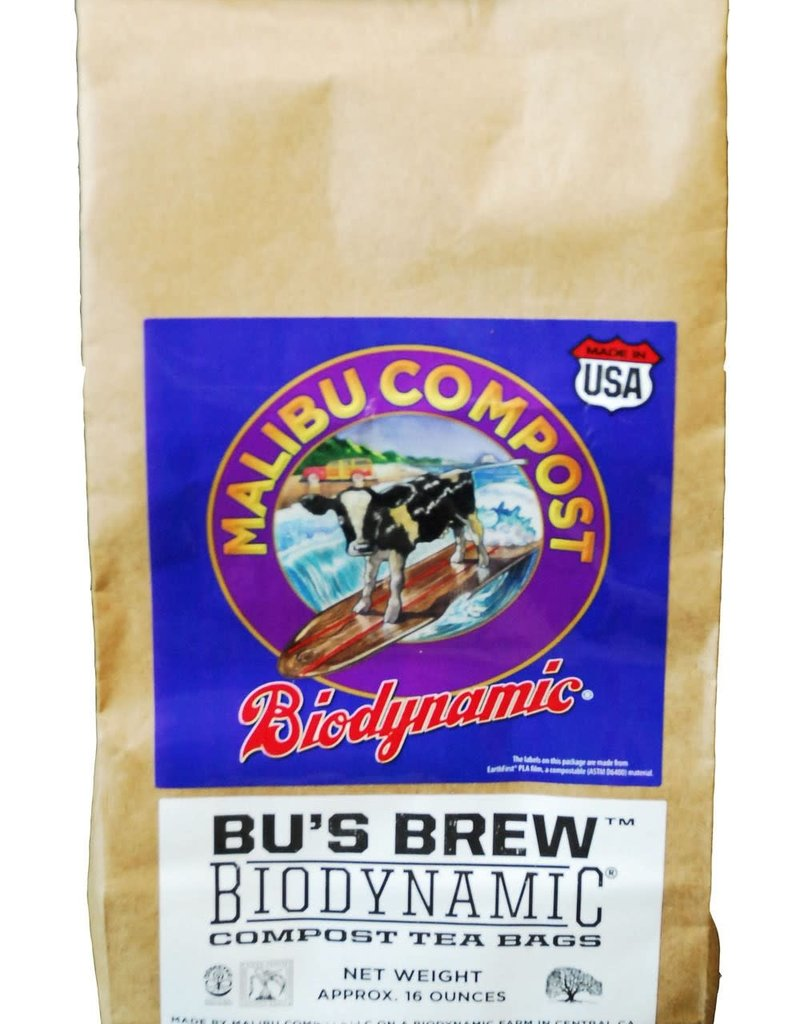 Malibu Compost Malibu Compost Bu's Brew Compost Tea Bags 4pk