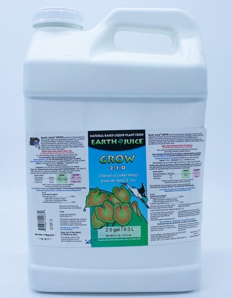 Hydro Organics / Earth Juice Earth Juice Grow, 2.5 gal