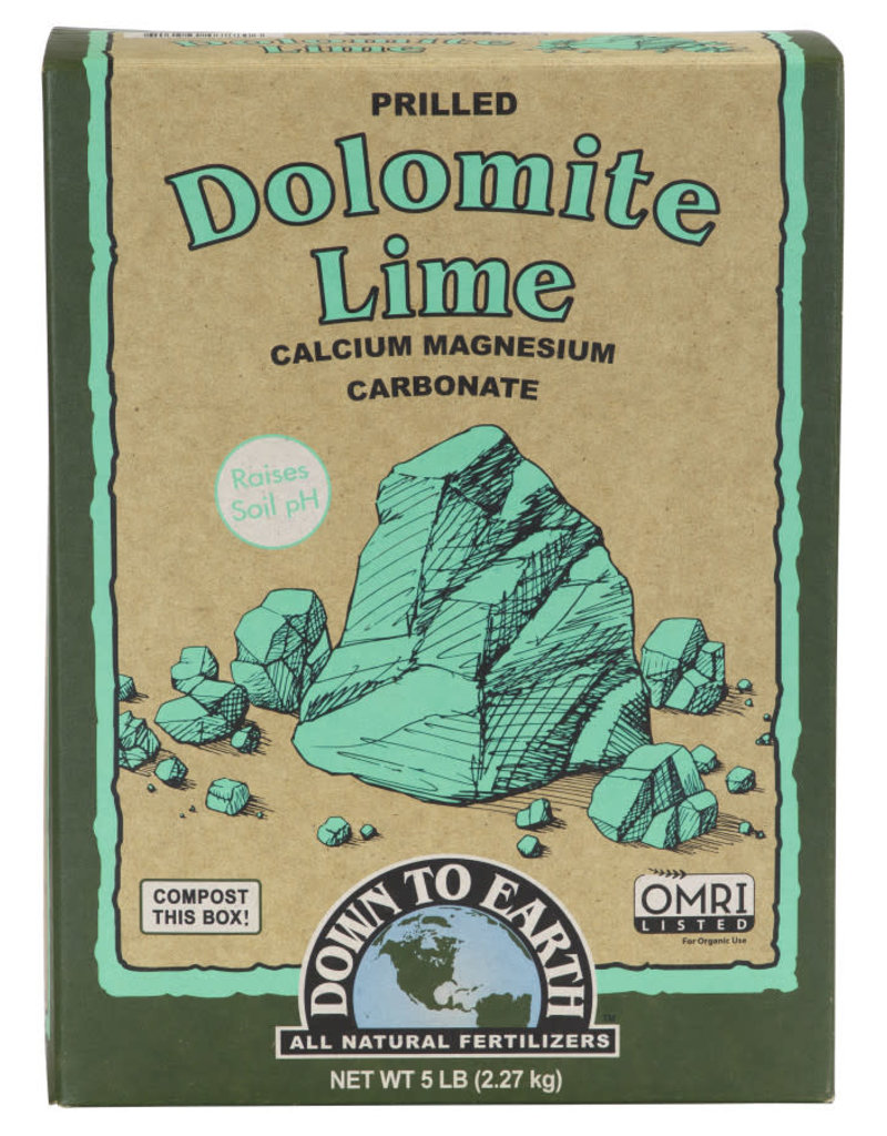 Down To Earth Down To Earth Dolomite Lime 5lb box