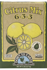 Down To Earth Down To Earth Citrus Mix 5 lb box