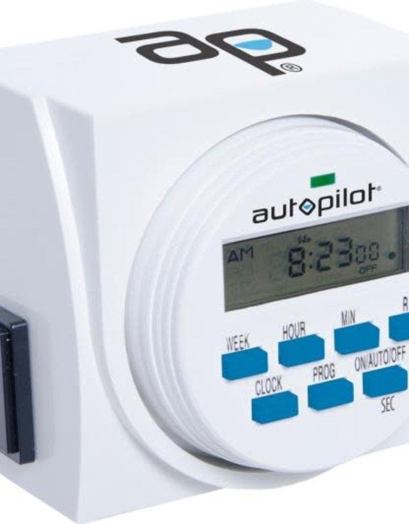 Autopilot Auto Pilot 7 Day Dual Outlet Digital Timer