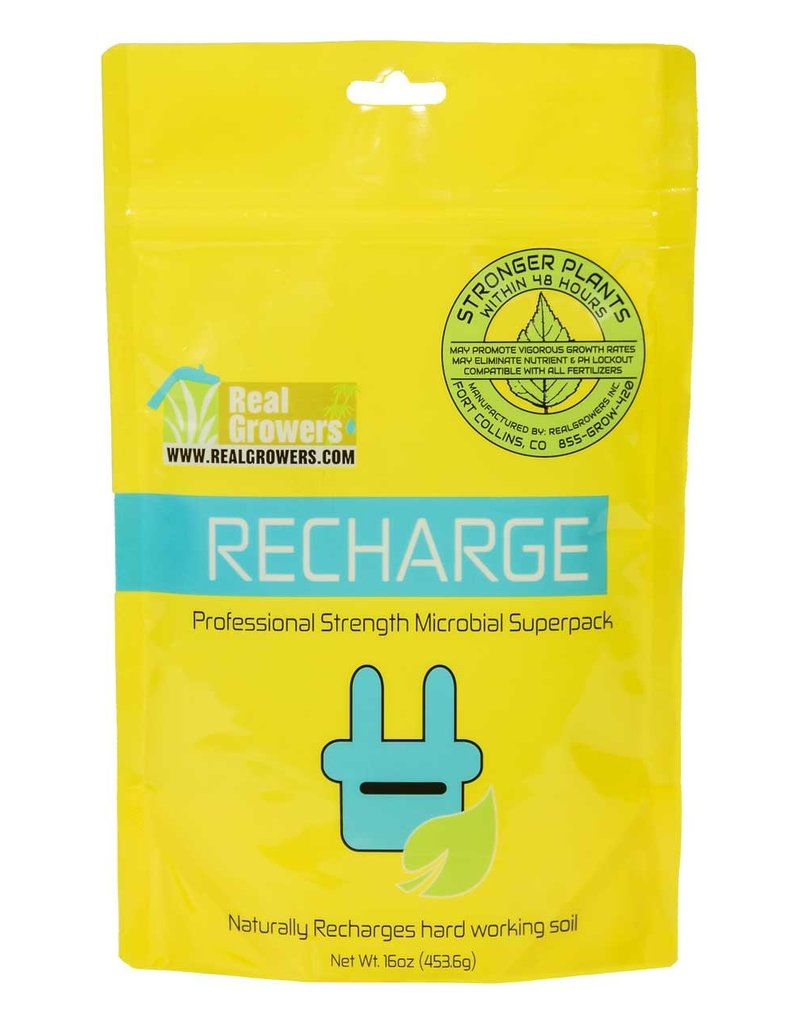 Real Growers Real Growers RECHARGE 16oz