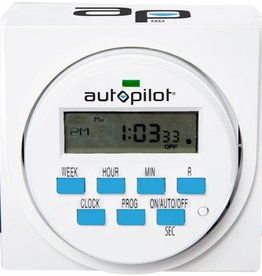 Autopilot Auto Pilot 7 Day Dual Outlet Digital Timer