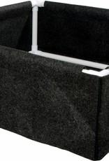 Hydrofarm Dirt Pot Box 3' x 3' fabric w/ PVC frame
