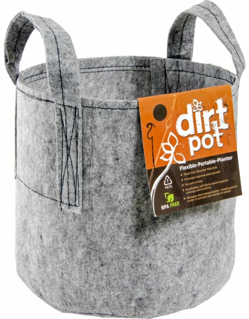 Hydrofarm Dirt Pot Tan 45 Gal w/Handle