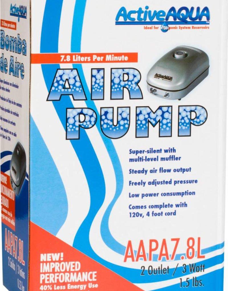 Active Aqua Air Pump 2 Outlets 3W 7.8L/min