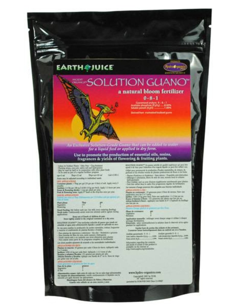 Hydro Organics / Earth Juice Earth Juice Solution Guano 2lb bag 0-8-0