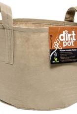 Hydrofarm Dirt Pot Tan 7 Gal w/Handle
