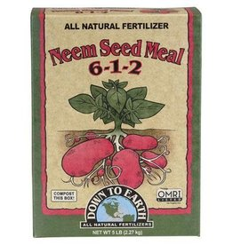 Down To Earth Down To Earth 6-1-2 Neem Seed Meal - 5 lb Box