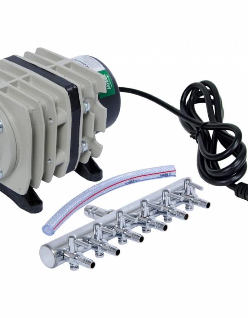 Active Aqua Active Aqua Air Pump 6 Outlets 20W 45L min/ 11.9 GPM