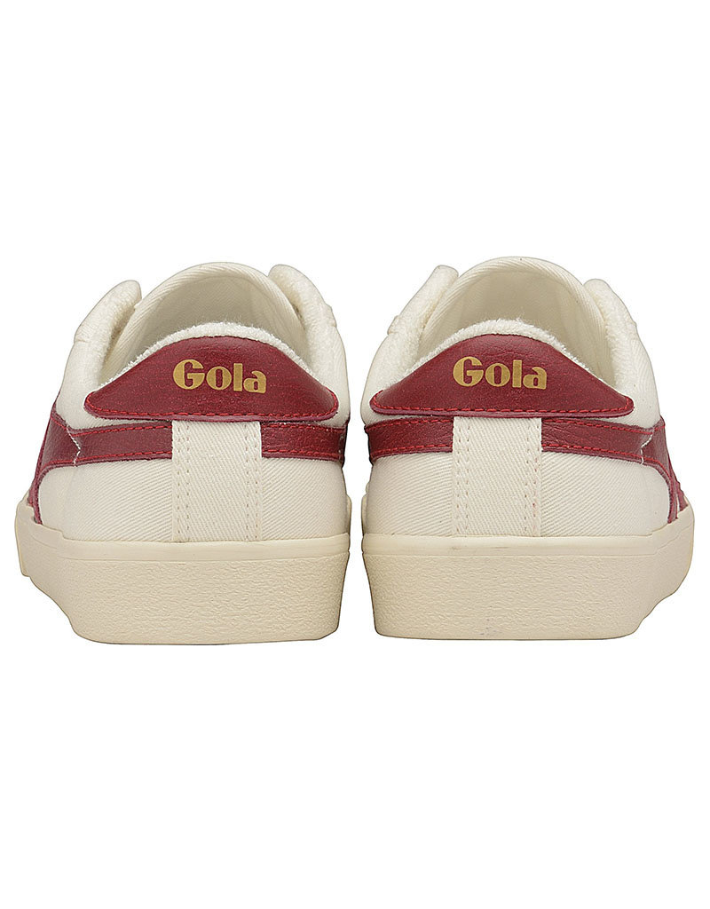 Gola Gola Tennis Mark Cox   Off White/Deep Red