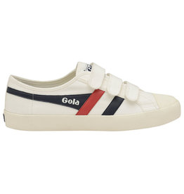 Gola GOLA - Coaster Velcro | Off White/Navy/Red