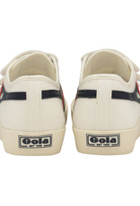 Gola Gola Coaster Velcro | Blanc/Bleu Marin/Rouge