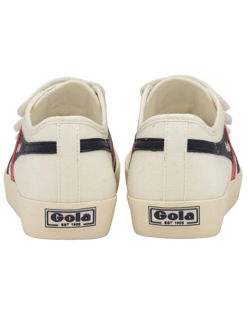 Gola GOLA - Coaster Velcro | Off White/Navy/Red