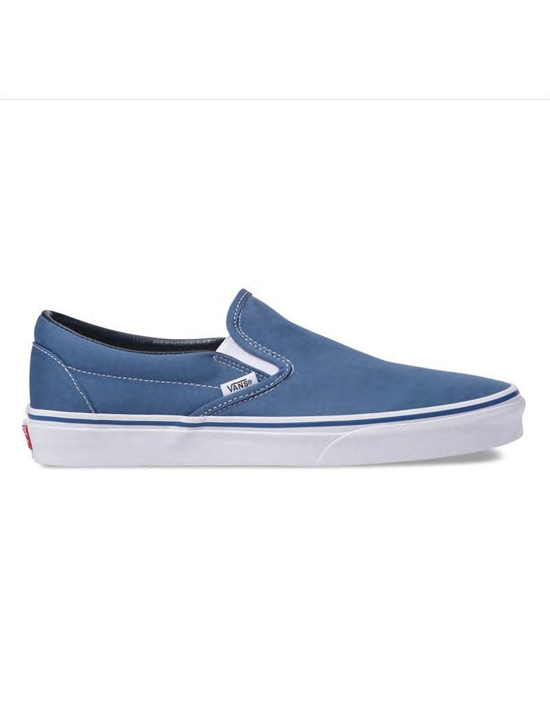 vans slip on bleu marine