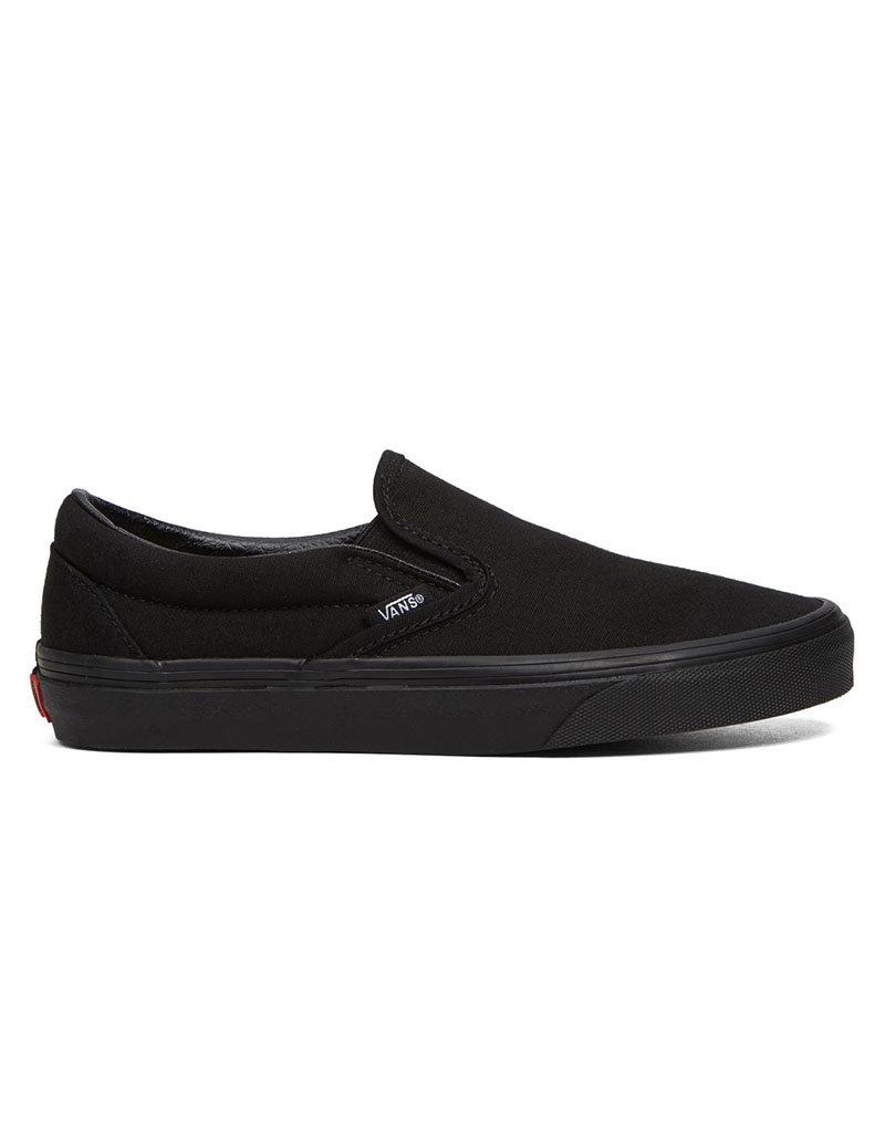 vans classic slip on black black Promotions