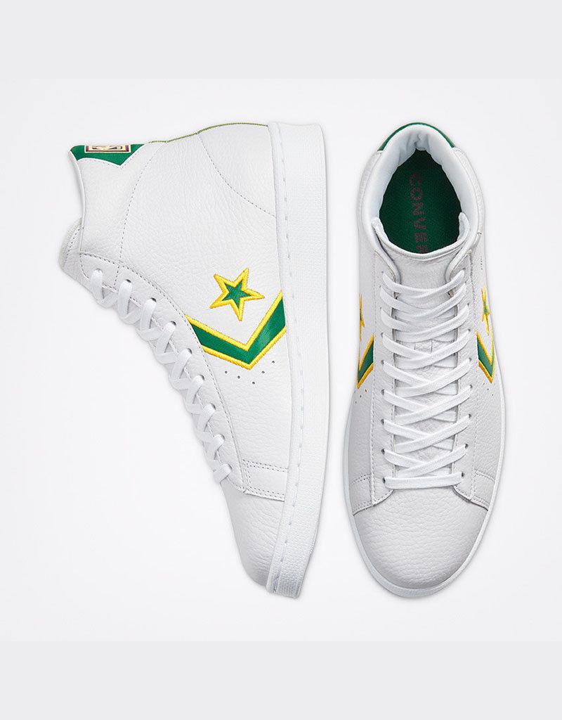 Converse Converse Pro Leather Hi | Amarillo / Green