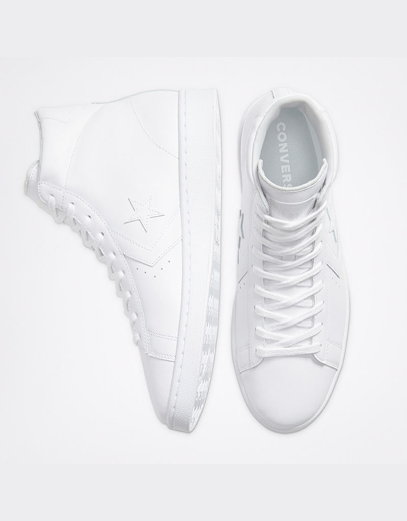 Converse Converse Pro Leather Hi | Blanc