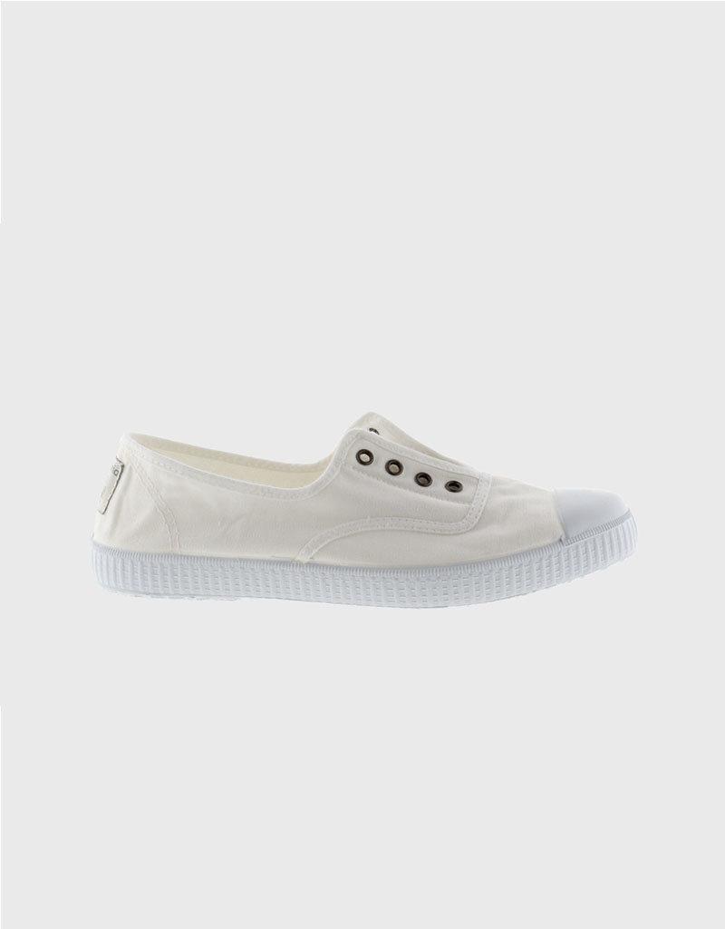 Victoria Victoria Elastico Slip-On   White