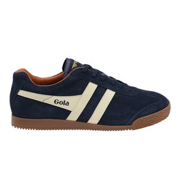 Gola Gola Harrier Suede | Bleu Marin/Ecru/Orange