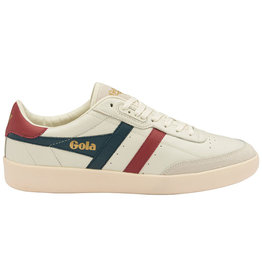 Gola Gola Inca Leather | Off White/Vintage Blue/Deep Red