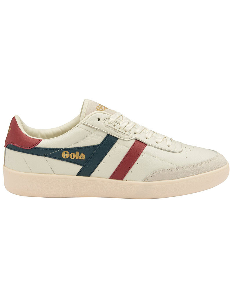 Gola Gola Inca Leather | Blanc/Bleu Vintage/Rouge
