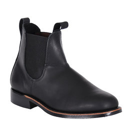 Canada West Canada West - Romeo Men Leather Chelsea boots  Square Toe -- 14346 | Black