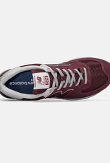 New Balance Unisex Sneakers New Balance 574 Burgundy ML574EGB