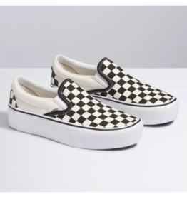 Vans Vans Slip-On Platform | Noir/Blanc Checker